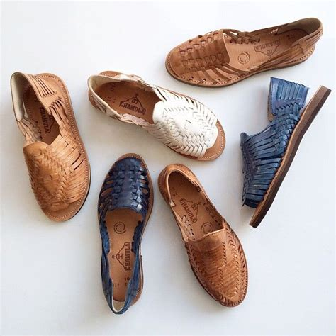 Flat Shoeskr 82 065 chamula huaraches handmade in mexico by artisans using soft brushed veg leathers