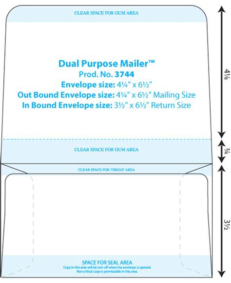 Collection Dual Purpose Envelope Template Western States Wsel Western States Envelope Templates