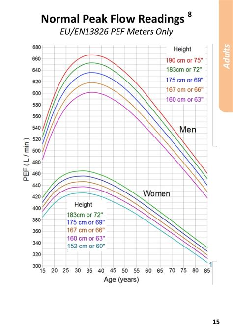 Similiar Adult Peak Flow Chart Chart Keywords