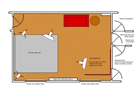 studio floor plan layout studio layout ian s studio