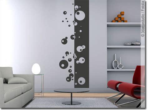 Wandgestaltung Mit Kreisen by Wandbanner Moderne Kreise Wandtattoo Tapete Passgenau