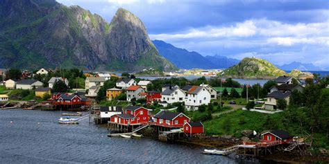 small villages in usa quaint fishing village reine will make you want to run off