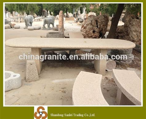 stone table and bench set outdoor stone table and bench banquet spining dining table