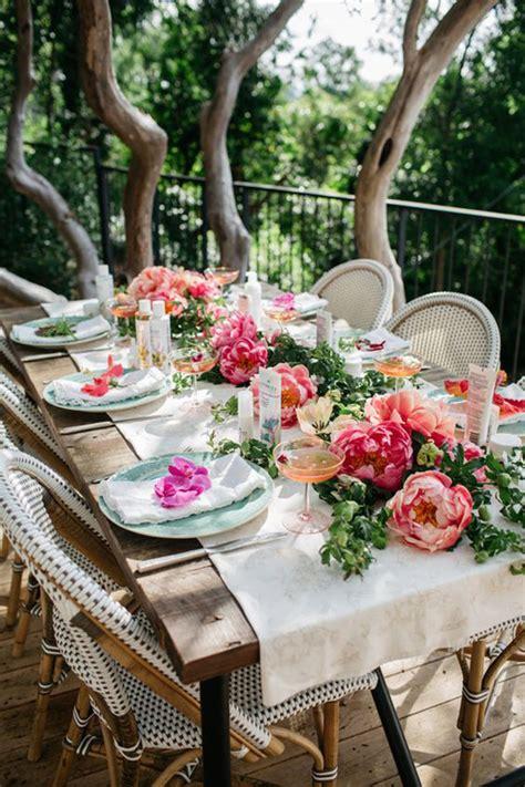 Gartenfeier Deko by Blooming Garden Tablescape B Lovely Events