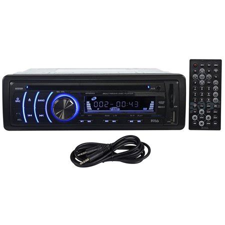 boss bv  dash car dvdmp player receiver amfm radio wusbsdaux cable  wireless