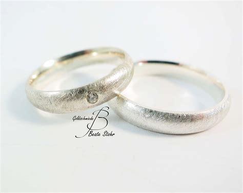 Diamant Ehering by Eheringe Silber Diamant Traumschmuckwerkstatt Shop