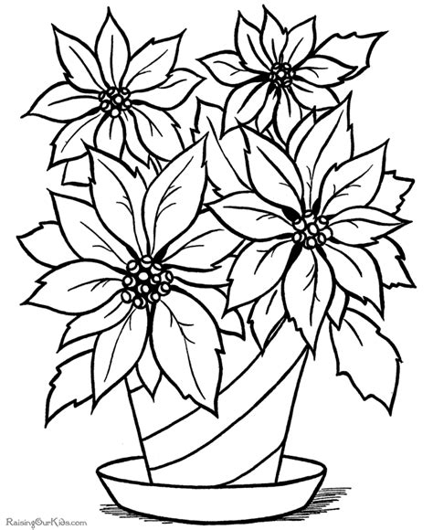 printable flower coloring pages free dead flowers coloring pages