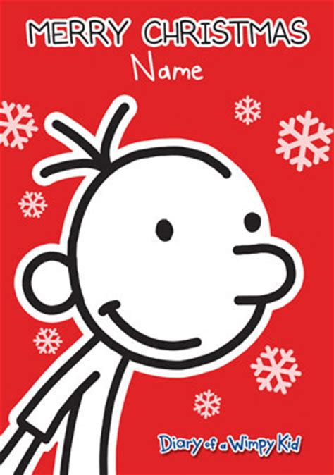 printable diary of a wimpy kid birthday card www funkypigeon com personalised card wimpy kid