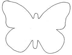 butterfly template example   Templates   Pinterest   Butterfly template, Butterfly and Butterfly