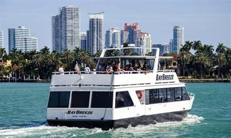 yacht boat ride miami bayride tours up to 57 off miami fl groupon
