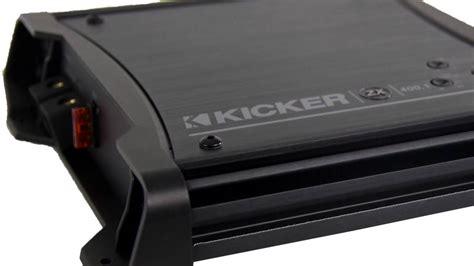 Kicker Zx400 1 2011 kicker zx400 1 400w mono d audio lifier