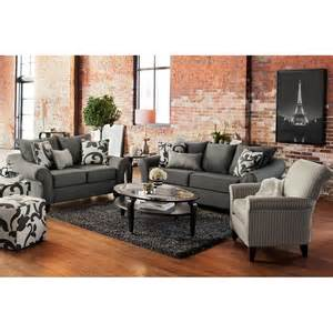 French Inspired Sofa Colette Sofa Gray Value City Furniture
