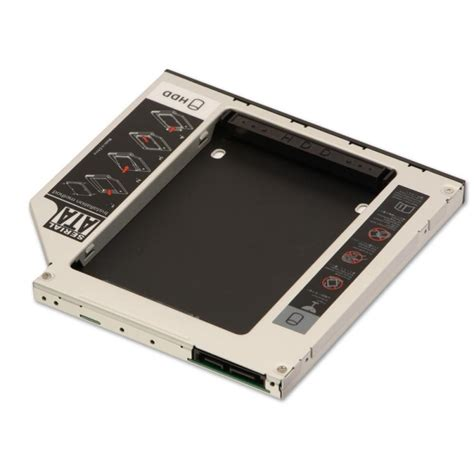 Hdd Caddy Laptop 9 5 Slim Sata ultra slim caddy for 2 5 quot sata hdd 9 5mm height from lindy uk