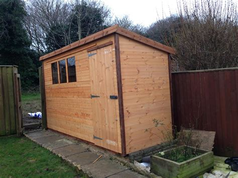 12x4 Shed by Treated Garden Sheds Dip Treated Wooden Sheds Beast Sheds