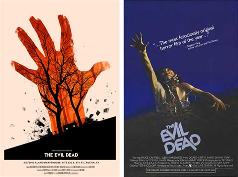 hollywood movie evil dead part 3 mondo the monster of modern movie posters collectors weekly