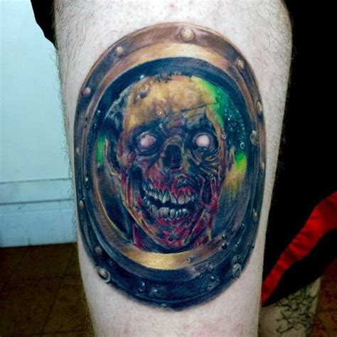 simple zombie tattoo 90 zombie tattoos for men masculine walking dead designs