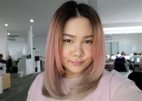 Dan Foto Catokan Rambut gambar dan foto warna rambut blorange hair tren warna rambut 2017 daily