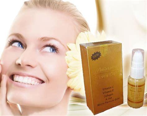Berapa Whitening Serum Gold pusat produk pemutih wajah muka badan yang aman home