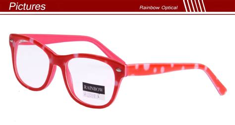 Handmade Chagne Glasses - custom brand and logo bright color glasses frame to