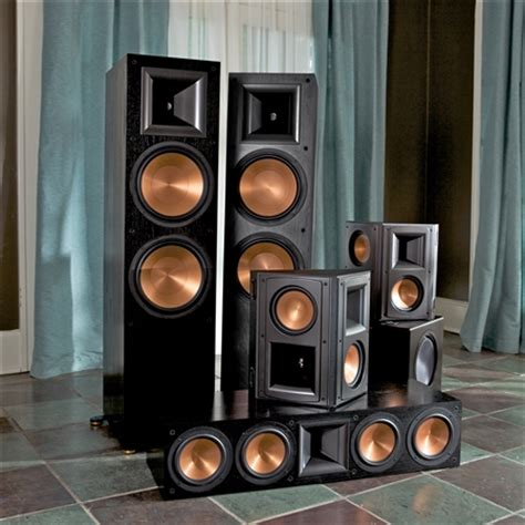 review klipsch rf 7ii reference series home theater