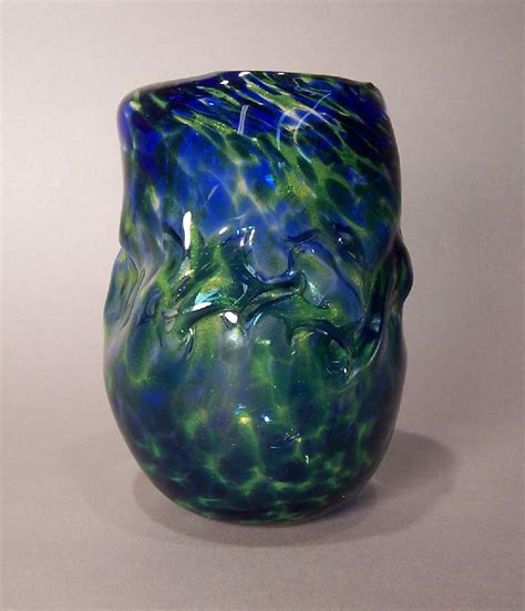 Blue And Green Vase Wrinkled Blue Green Vase 187 Kater S And Writing