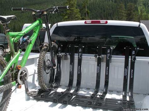 truck bed bike rack lee likes bikes