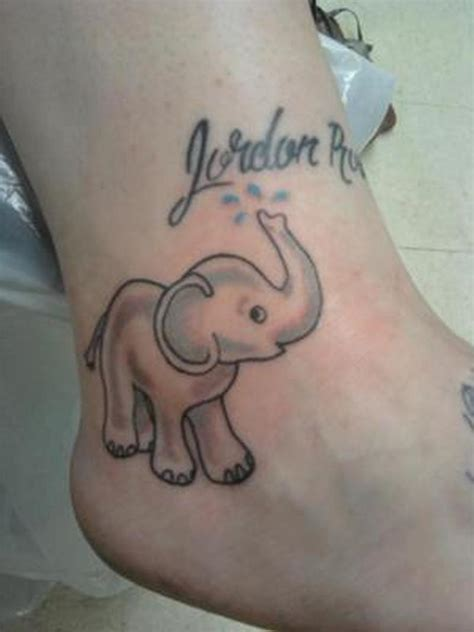 baby elephant tattoos design baby elephant tattoos book 65 000 tattoos designs