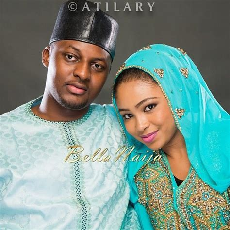 hausa blouse style hausa couple in their traditional wedding attire the