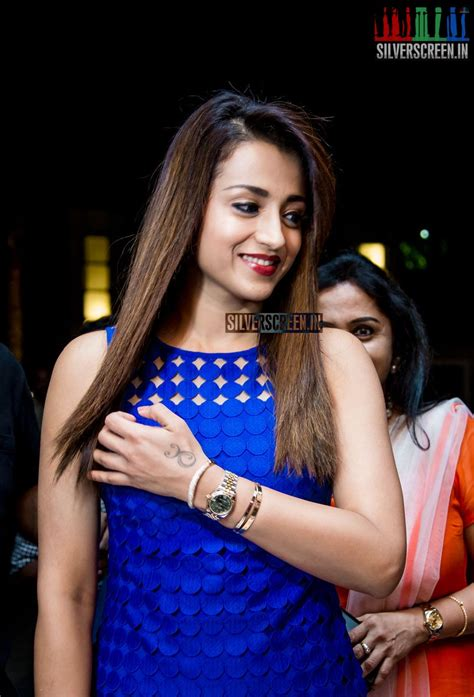 pictures gallery in pictures trisha krishnan at the launch of chao pan asian restaurant