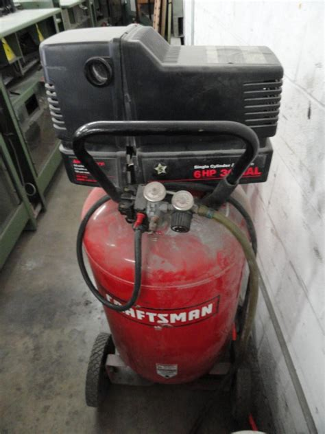 lot  craftsman  gallon hp gas electric air