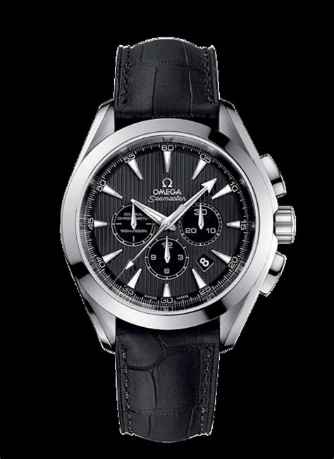 Omega Seamaster Chronograph Leather Quality Premium high quality replica omega seamaster aqua terra 150 m co axial chronograph 44 mm leather