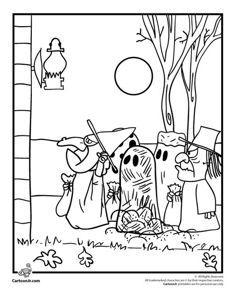 its the great pumpkin charlie brown coloring pages snoopy