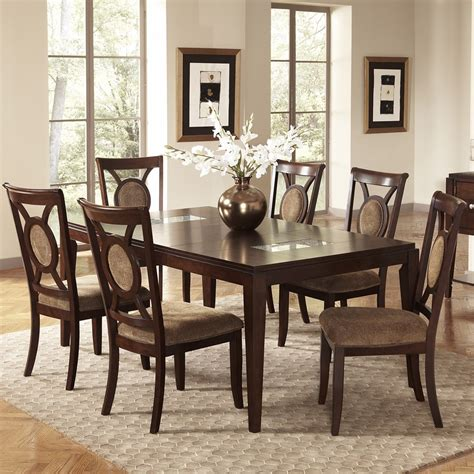 7 piece dining room table sets dining room 7 piece sets marceladick com