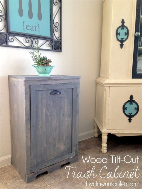 tilt out trash cabinet wood tilt out trash can cabinet designs 174