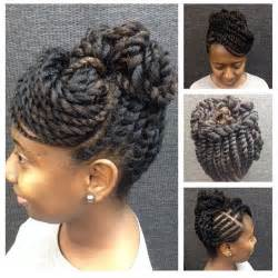 updo hairstyles with big twist best 25 two strand twist updo ideas on pinterest