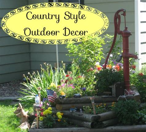 Outdoor Yard Decorating Ideas Country Yard Porch Decorations Whether You A Front Porch A Four Season Room A Deck Or A