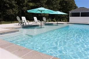sun shelf contemporary pool dc metro by the pool