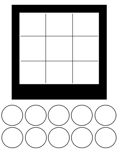 tic tac toe template tic tac toe template free to use templates