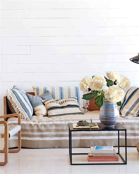 martha stewart home decor home decor ideas 13 ways to use stripes martha stewart
