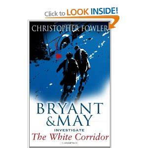 bryant may chamber a peculiar crimes unit mystery books the white corridor a bryant may mystery by c fowler
