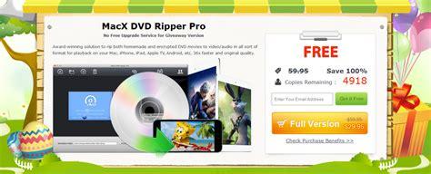 Macx Dvd Ripper Pro Giveaway - freebie macx dvd ripper pro license key easter giveaway