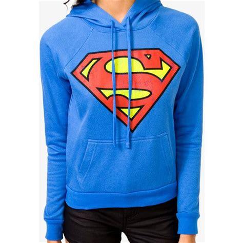 hoodie sweatre superman anak forever 21 superman hoodie 23 liked on polyvore