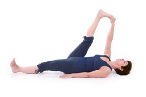 Reclined Poses by How To Do Reclining Big Toe Pose In