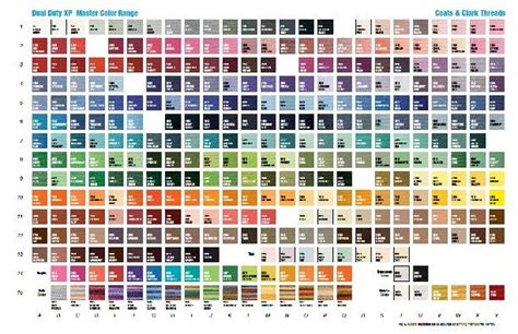 coats and clark thread color chart coats and clark thread color chart sewing goodies