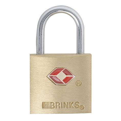 Solid Luggage Padlock Series R 7819 Colour brinks 161 20471 tsa approved 22mm luggage lock solid brass import it all