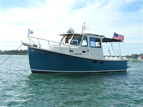 electric boat inc trawler river launch solar electric boat