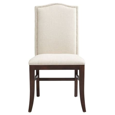 Sunpan Dining Chair Sunpan 5west Maison Linen Fabric Upholstered Dining Chair Set Of 2 By Sunpan Great Deals