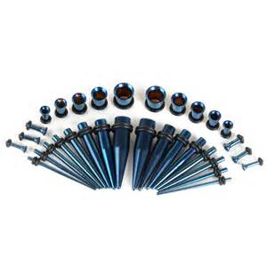 32 pi 232 ces acrylique bouchon d oreille taper kit tailles