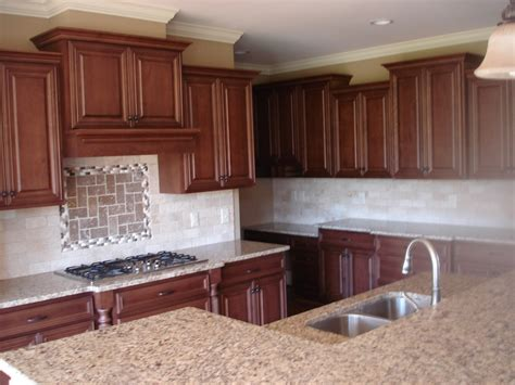Manufacturers Of Kitchen Cabinets bishop cabinets cherry w off white custom painted