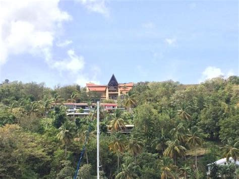 foreman house george foreman s house picture of marigot bay st lucia tripadvisor
